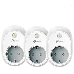 3er-Pack TP-Link Kasa Smart WLAN Steckdose HS100(EU), ohne Energieüberwachung, Amazon Alexa (Echo und Echo Dot, Google Home und IFTTT)