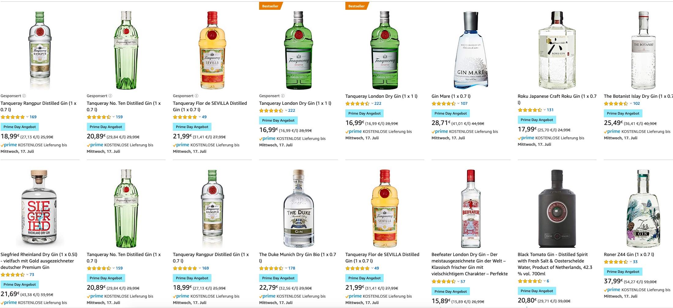 [amazon] [Prime Day] Whisky Angebote u.a. Bruichladdich, Talisker, Glengoyne uvm.