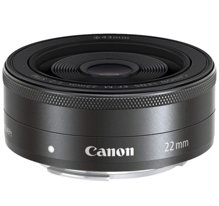 [Prime Day] Canon EF-M 22mm f2 STM Pancake Objektiv