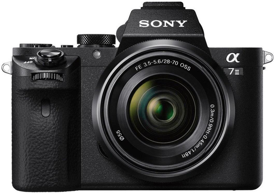 Sony Kamera Sammeldeal - z.B. Alpha 7 Mark II inkl. Kit