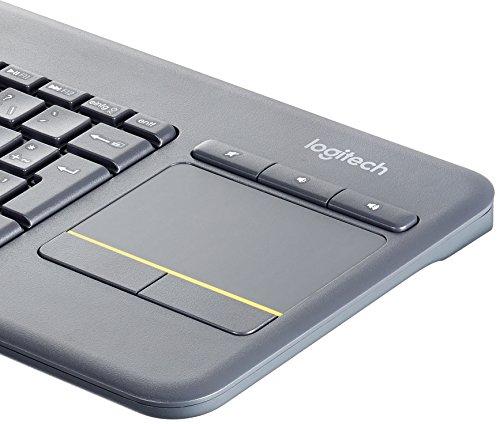 [Amazon Prime Day] Logitech K400 Plus Touch Wireless Tastatur schwarz