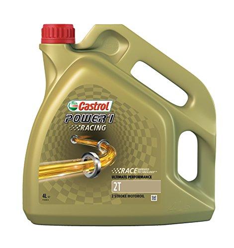 Castrol Power 1 Racing Motorenöl 4L - 2-Takt-Öl (Motorräder, Quads,..)