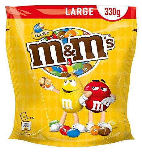 [PRIME] M&M'S Peanut, Choco oder Crispy (5 x 330g)