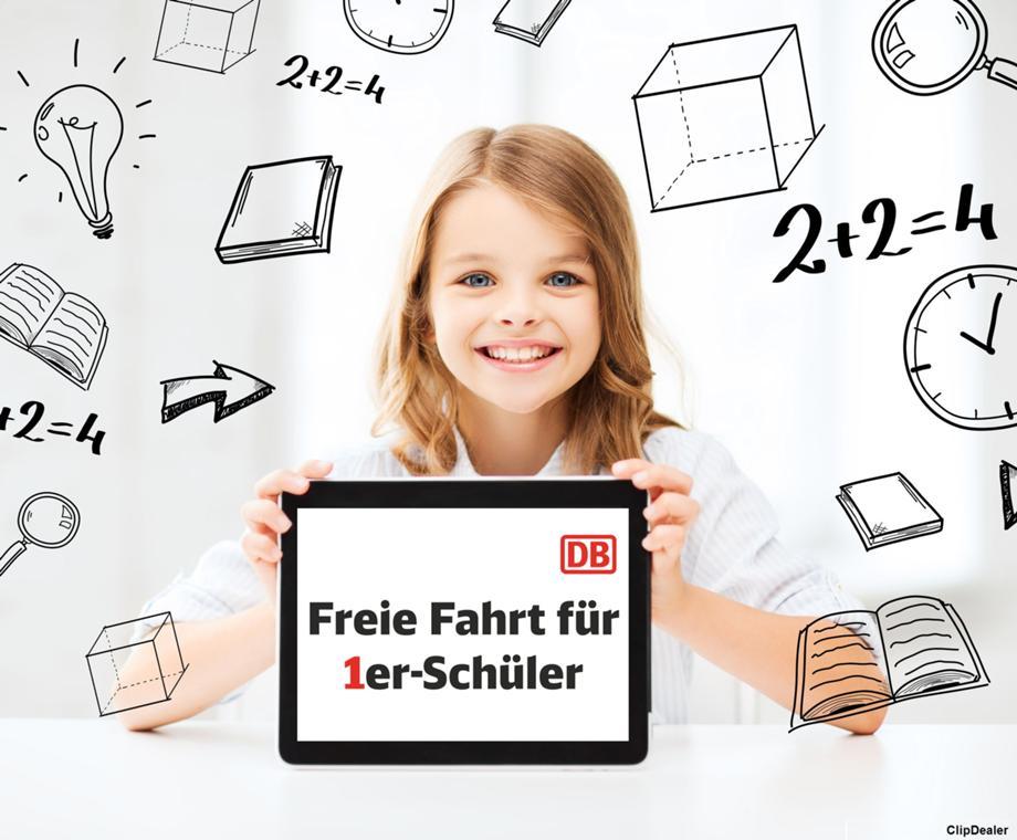 [Bayern] Am 29.07.2019 mit einer 1 im Zeugnis gratis mit der Bahn (IRE, RE, RB, S) fahren