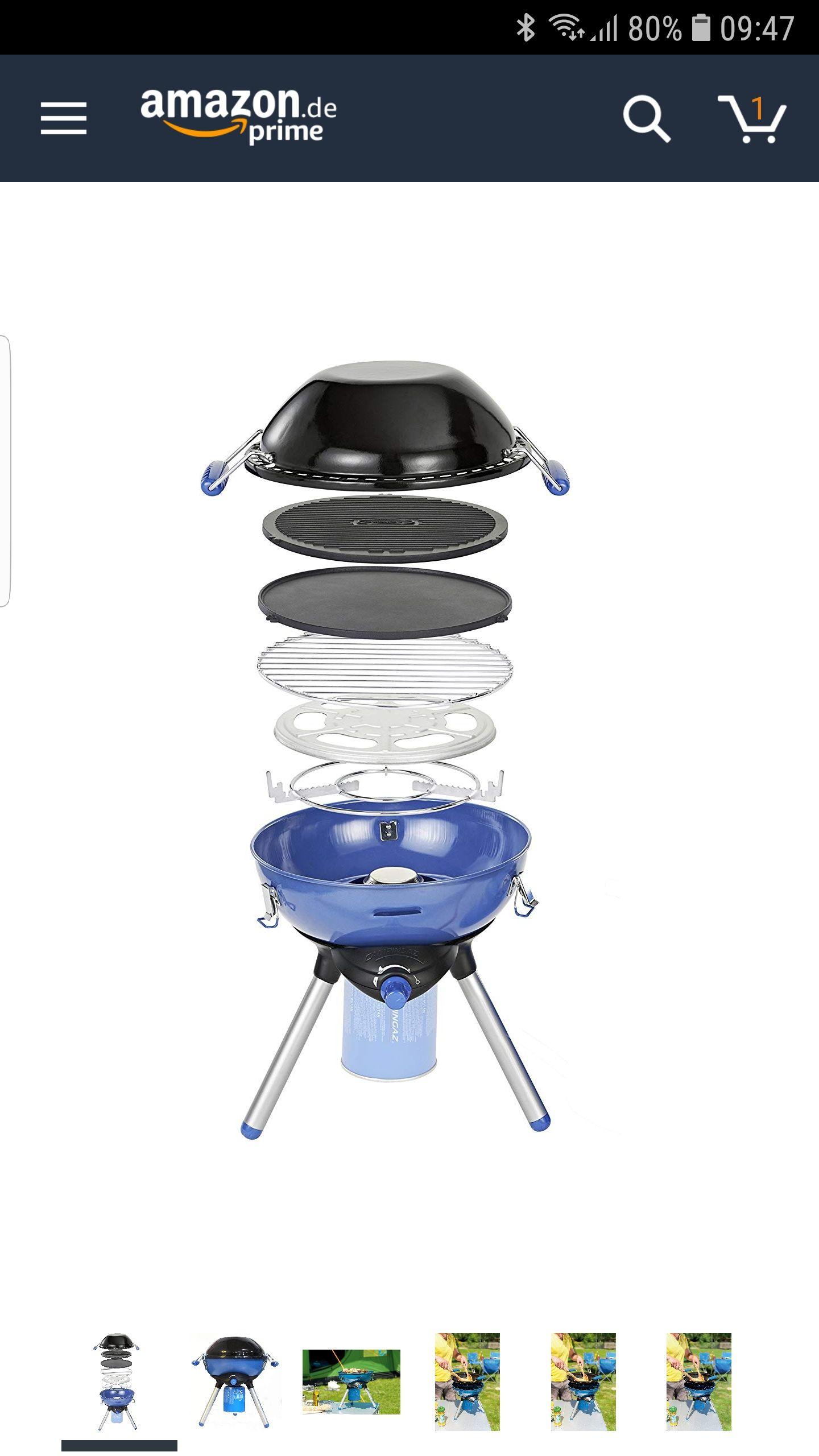 (Primeday) Campingaz Party Grill 400 CV  - kompakter Gasgrill