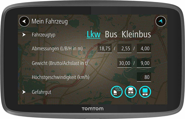 [Prime Day] TomTom Go Professional 6250 für LKW, Kleinbus und Bus