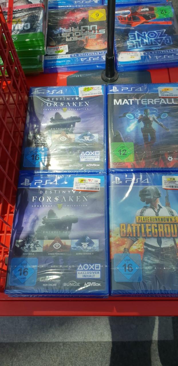 [Media Markt Waltersdorf] Destiny 2 Forsaken - LE für 7 € oder Battlezone VR für 10 €