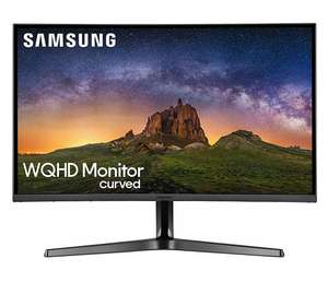 Samsung C32JG52 80 cm (32 Zoll) Curved Gaming Monitor (HDMI, DisplayPort, 3,5 mm Audio, 4ms (G/G), 144 Hz, 2560 x 1.440) [Prime]