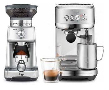 Sage Siebträgermaschine für nur 299€ plus gratis Kaffeemühle