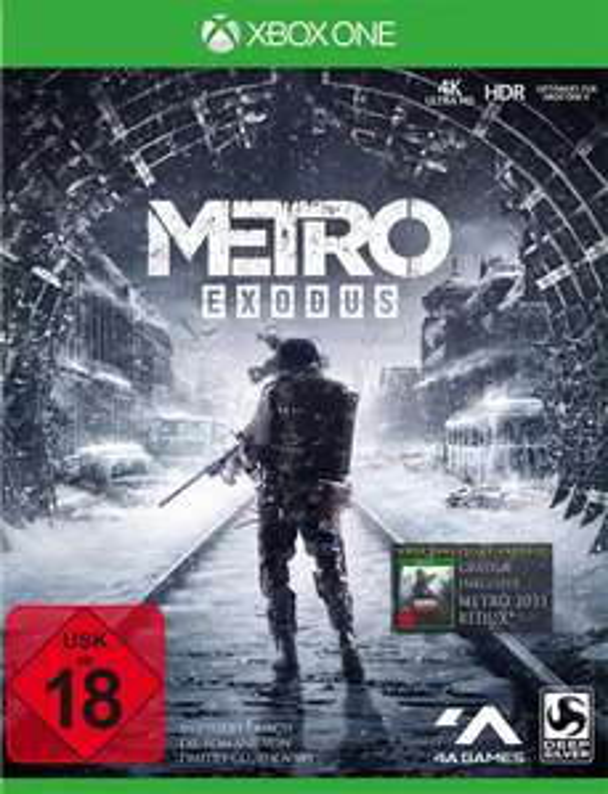 Metro Exodus Day One Edition (Xbox One & PS4) für je 29,99€ (GameStop)
