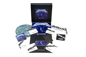 """Metallica - """"Ride The Lightning"""" Remastered Deluxe Edition Box Set (Prime Day)"""