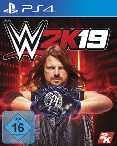 WWE 2K19 (PS4 & Xbox One) für je 9,99€ (GameStop & Amazon Prime)