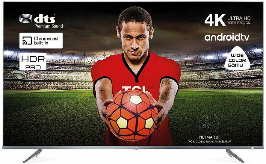 [Prime Day] TCL 55DP660 140 cm (55 Zoll) Fernseher (Ultra HD, Triple Tuner, Smart TV)