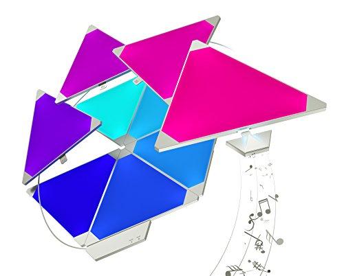 Amazon.fr Nanoleaf Aurora Rhythm Starter Kit 15er-Pack
