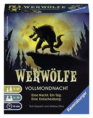 Ravensburger - Werwölfe Vollmondnacht [PrimeDay]