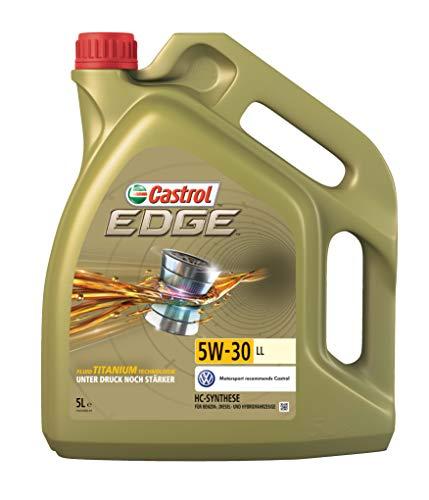 Castrol 57420 EDGE Motoröl 5W-30 LL, 5L fluid Titanium Technologie [Amazon Prime Day]
