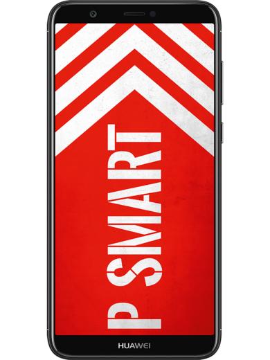 HUAWEI P smart Dual-SIM Smartphone (5,6 Zoll) FullView Display, 13 MP Dual-Kamera, 32 GB interner Speicher, Android 8.0) [Mobilcom Abholung]
