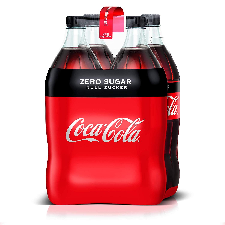 (Lokal - Berlin & München) PrimeNow: Coca Cola Zero - 4x1,5 l für 2,10 Euro
