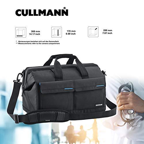 [Amazon Prime Day] Cullmann Amsterdam Kameratasche (Öffnung wie Arzttasche) für mittleres bis großes Equipment