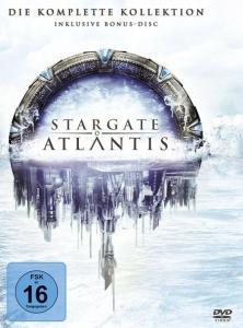 Stargate Atlantis - Die komplette Kollektion (26 DVDs) für 29,97€ (Amazon Prime Day)