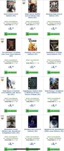 Gamesonly Uncut PC Games 5,99€ inkl. Versand