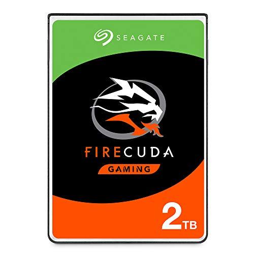 Seagate FireCuda ST2000LX001 Interne Solid-State-Hybrid-Festplatte (2 TB, SSHD) für PC und PS4