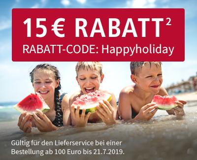 Real Lebensmittelshop Lieferservice 15€ Rabatt ab 100€ Bestellwert