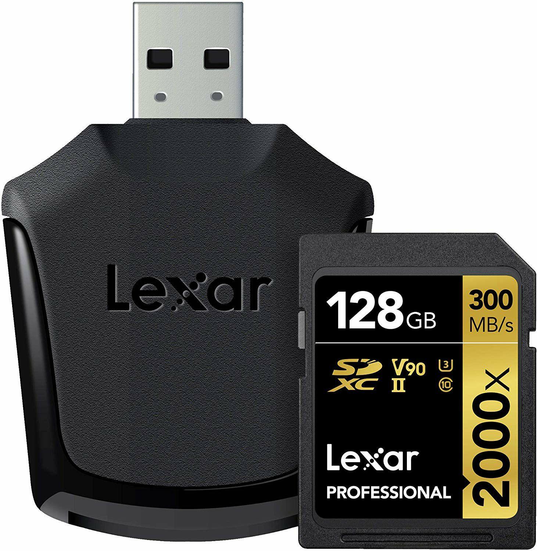 Lexar Professional 2000x SDSDXC 128 GB