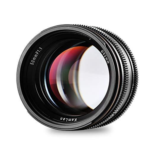 [Amazon Prime Days] Kamlan 50mm F1.1 APS-C Große Blende [Fuji X-Mount!]