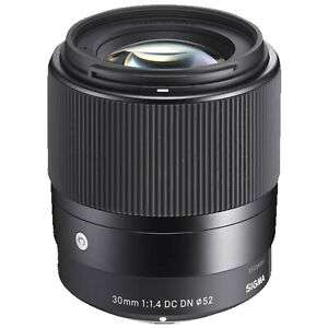 [Amazon UK] Sigma 30mm f1.4 für APS-C, E-Mount