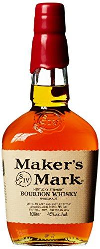 Whiskey: z.B. Maker's Mark Bourbon 1l 45% / Bulleit Frontier 0,7l 45% 16,59€ / Elijah Craig 0,7l 47% 23,99€ bei [Amazon / Prime Day]