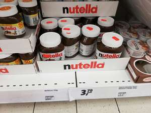 Nutella 750g 1,95€ - real Hemmingen [Lokal]