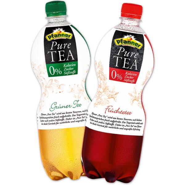 Pfanner Pure Tea (1L) - bei Lidl für 0,75€