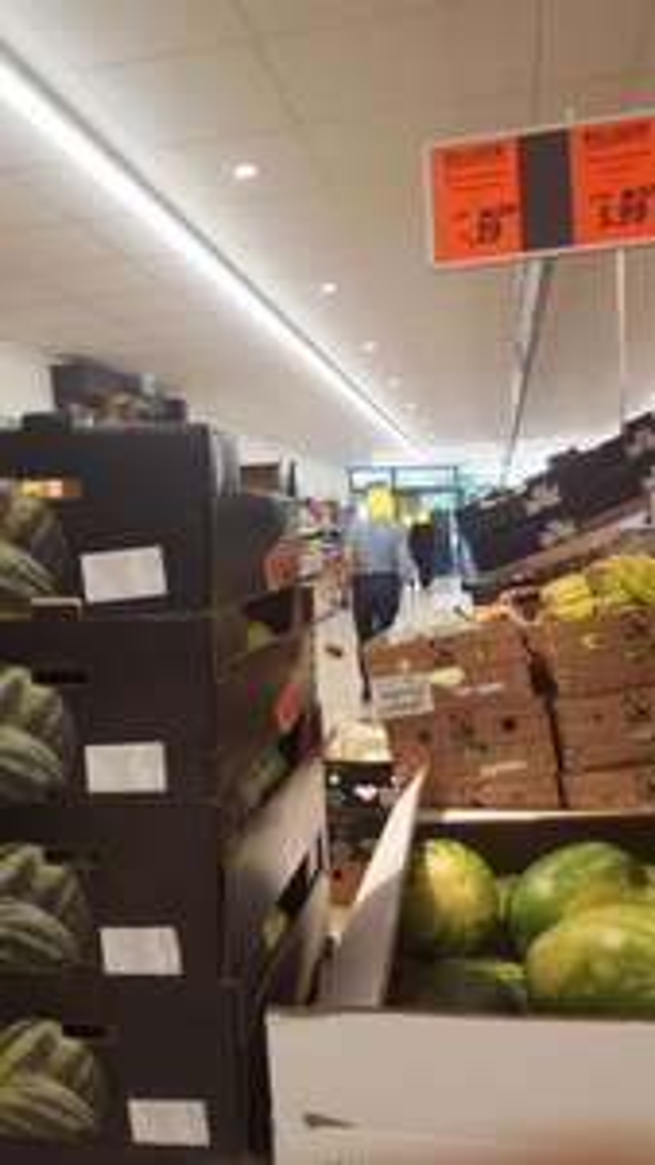 [Lokal] - München Laim Fürstenrieder Straße - Wassermelonen kernarm für nur 39 Cent/Kg