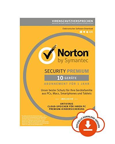 [Amazon Prime Day] Norton Security Premium 2019 (10er Lizenz)