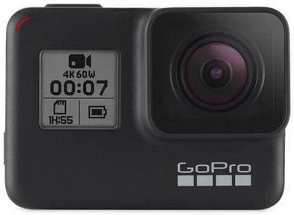 GoPro Hero 7 Black mit 2 Zubehör Kits.