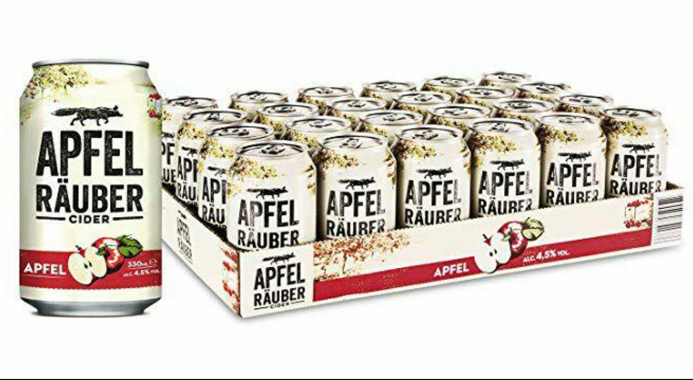 Apfel Räuber Cider || 24x0,33 || Pfandfrei || Prime