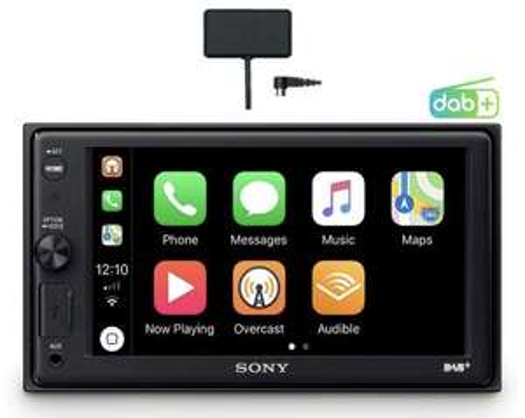 Sony XAV-AX1005KIT DAB+ carplay inkl. Antenne