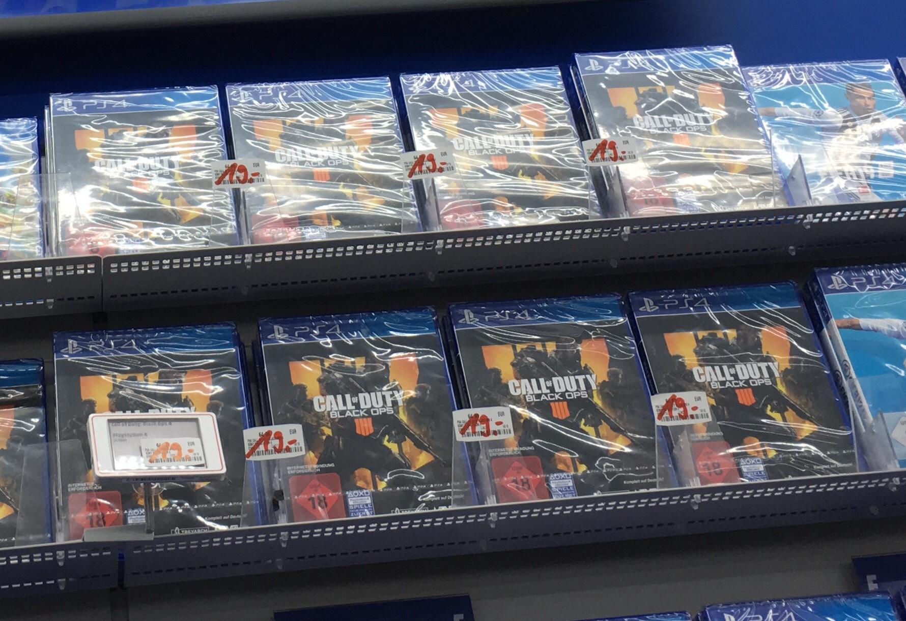Lokal Media Markt Bielefeld Call of Duty Black Ops 4 PS4
