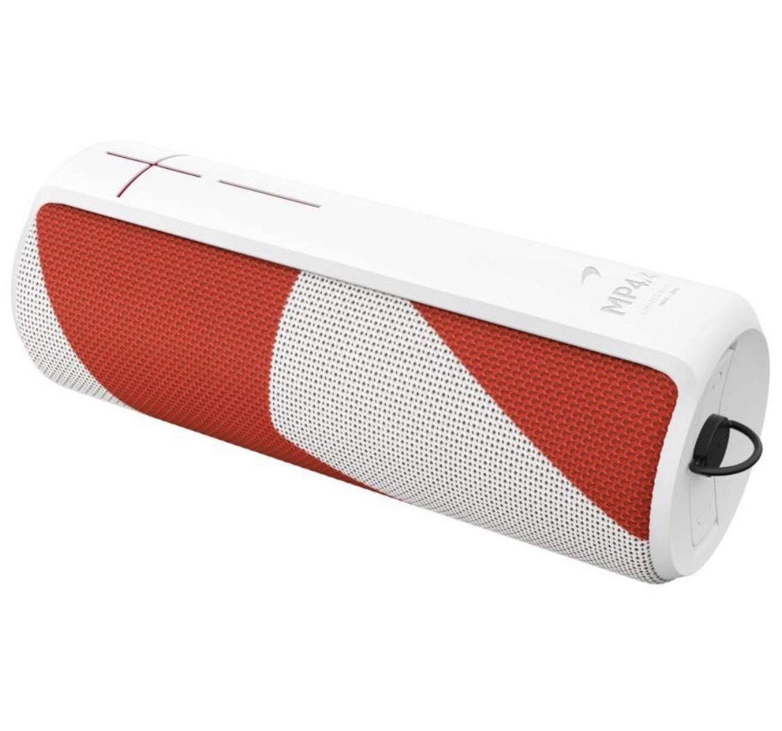 [PrimeDay] Ultimate Ears UE Megaboom Bluetooth Lautsprecher, Rot-Weiß