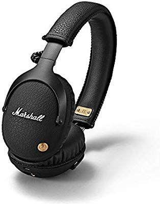 Marshall Monitor Bluetooth-Kopfhörer mit FTF-Filtersystem, 30 Stunden Spielzeit, Bluetooth 4.0, faltbares Design, Schwarz [Amazon Prime]