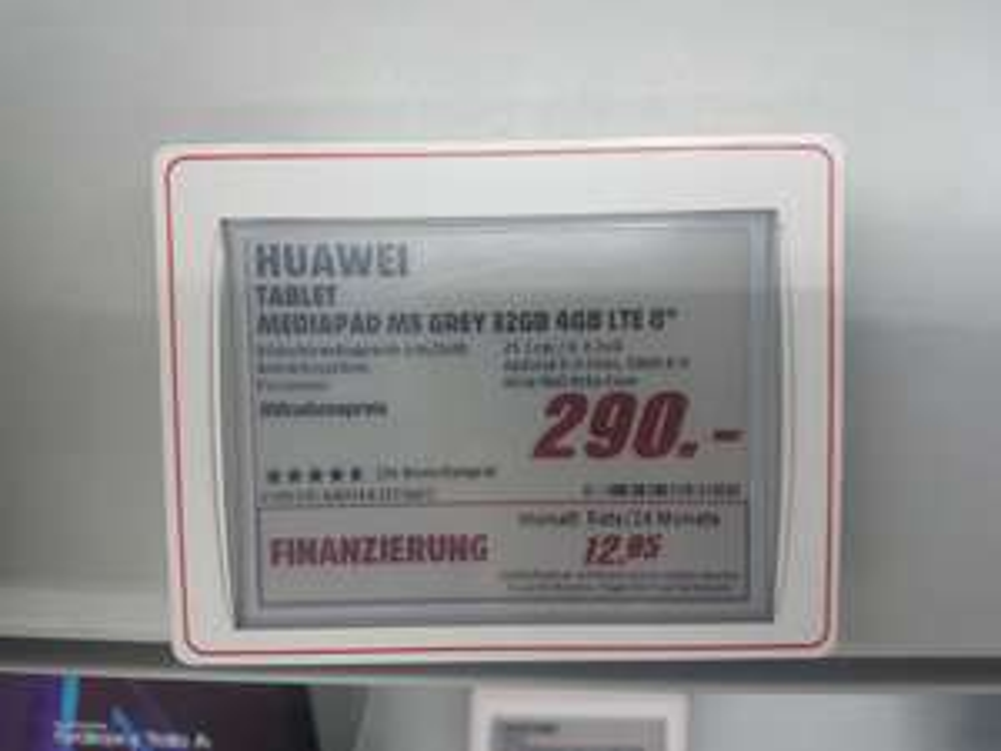 [lokal Ulm?] Huawei Mediapad M5 8,4zoll LTE