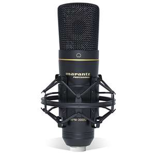 [Amazon / Thomann.de] Marantz Professional MPM-2000U - Großmembran USB-Kondensatormikrofon