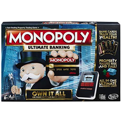 Monopoly Banking ultra Amazon prime