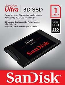 [Amazon Prime Day] SanDisk SSD Ultra 3D 1TB - 3D-NAND TLC, SATA 6Gb/s