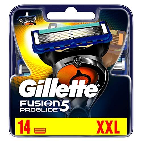 [Prime Day] Gillette Fusion5 ProGlide Rasierklingen, 14 Stück