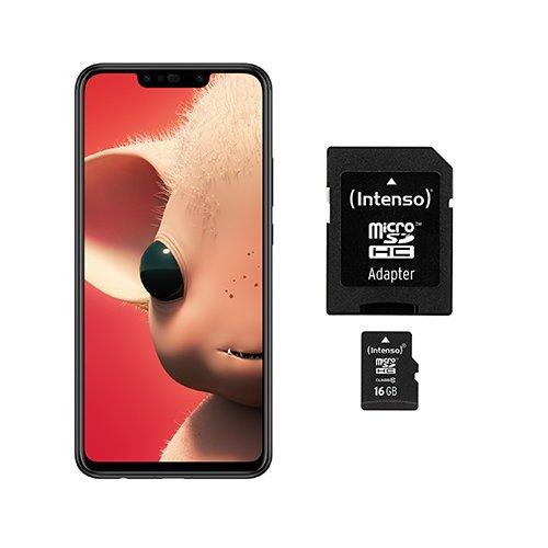 [amazon] [Prime Day] Huawei P Smart + Dual-Sim Smartphone mit extra 16GB Speicherkarte
