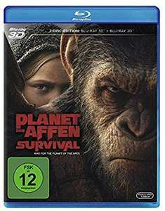 (Prime Day) Planet der Affen Survival 3D Blu-Ray