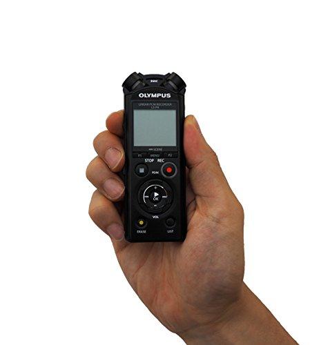 [Amazon.de] Olympus LS-P4 PCM FLAC Sprach- und Gesangsrekorder (Radio-Journalisten-Standard) mit Bluetooth, microsd
