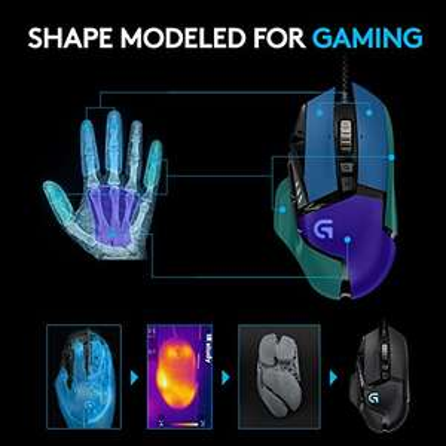 Logitech Gaming Maus G502 Proteus Spectrum RGB